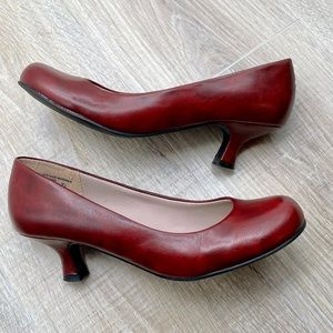 Madden Girl red shoes